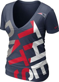 Nike New England Patriots Womens Navy Blue Warpspeed All Time Full ...