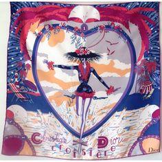 foulard en soie, carré dior, croisière, christian dior, luxe,authentique,  accessoire femme,dior, sciarpa dior, seidetuch 8bbcd04dfb4