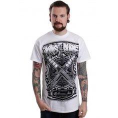 Boris The Blade - Knives White - T-Shirt - Offizieller Merchandise Online Shop - Impericon.com