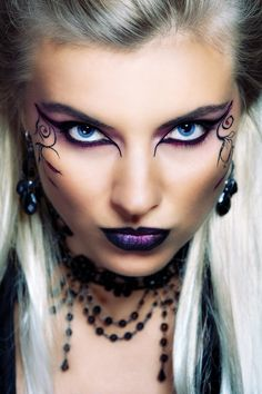 Fantasy makeup artists - Google Search | Holidays Halloween Costumes