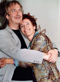 Alan Rickman & Emma Thompson, love these two together.