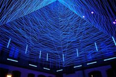 © vía colossal espacios tridimencionales con luz laser