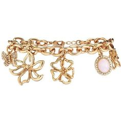 Flower Charm Bracelet - Best Prices and Top Quality by AVON (176.080 IDR) ❤ liked on Polyvore featuring jewelry, bracelets, avon, avon jewelry, charm bracelet, flower jewelry and flower bangle