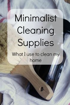 Are you overwhelmed with cleaners? Here are my minimalist cleaning supplies that I use to get my house incredibly clean each week!