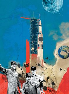 Michelle Thompson - Apollo 13 Article Illustration