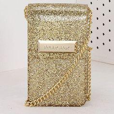 a0e4ab4f77574 Bolsa Transversal Petite Jolie - Dourado(A)