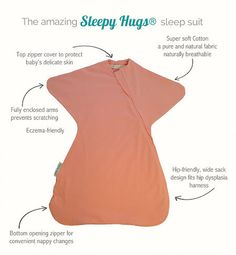Helping your baby sleep - The sleep suit to help with startle reflex