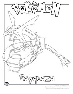 60 great Pokemon coloring pages, including many characters from Pokemon Go and newer Generations added! Coloring Pages For Boys, Free Coloring Pages, Printable Coloring Pages, Coloring Sheets, Coloring Books, Pokemon Craft, Pokemon Party, Pokemon Birthday, Rayquaza Pokemon
