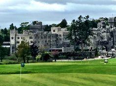 Ashford Castle in Castle Mayo, Ireland. #Ireland #AshfordCastle #castle #CountyMayo #Cong #architecture #history