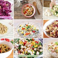 TANTE IDEE DI PIATTI FREDDI – RICETTE PER L'ESTATE Pasta Salad, Cobb Salad, Biscotti, Antipasto, Gnocchi, Buffet, Food And Drink, Cooking Recipes, Estate
