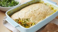 Original Bisquick® mix provides a simple addition to a no-fuss chicken pot pie that& baked to perfection - great when you want dinner to be ready in an hour. Bisquick Chicken Recipes, Homemade Chicken Pot Pie, Pie Recipes, Cooking Recipes, Yummy Recipes, Dinner Recipes, Denver, Entryway, Casserole Recipes