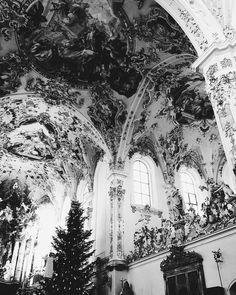 Rottenbuch Abbey, Germany - Catalina Elena (@cattarockss) on Instagram