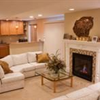 #remodeling #basement #finished #company #coloradosprings #fireplace Finished Basement Company, Remodeling, It Is Finished, Home Decor, Interior Design, Home Interior Design, Home Decoration, Decoration Home, Interior Decorating