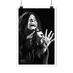 Janis Joplin Lithograph Psychedelic Bands, The Great White, I Still Love You, Janis Joplin, Female Singers, Vinyl, Music Lovers, Rock N Roll, Blues