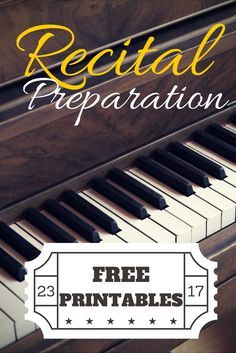 Use this game to prepare your kids for your piano recital like never before! | www.teachpianotoday.com