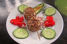 Rouladenspieße für den Grill (Rezept mit Bild) von Herta | Chefkoch.de