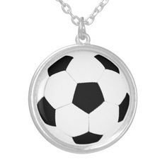 ad9c9d83c401 Soccer Ball Custom Necklace Soccer Ball