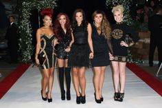 Tulisa Contostavlos, Jade Thirlwall, Perrie Edwards, Leigh-Anne Pinnock, and Jesy Nelson at an event for The Twilight Saga: Breaking Dawn - Part 1 (2011)