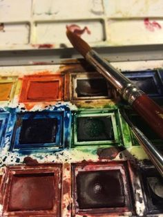My palette! Photograph