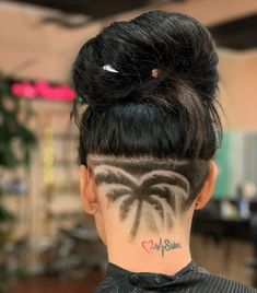 Hipster Haircuts For Men, Hipster Hairstyles, Girls Short Haircuts, Undercut Hairstyles Women, Asian Men Hairstyle, Pixie Hairstyles, Shaved Undercut, Shaved Nape, Long Pixie