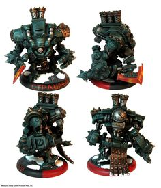 """Karchev the Terrible, Warcaster of Khador, from the miniatures game """"Warmachine"""" by Privateer Press."""