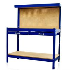 Work Bench Tool Storage With Drawers and Peg Boar Solid Steel Construction New - Walmart.com 124.95 for mike's birthday