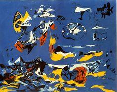 "Jackson Pollock, ""Blue"" (Moby Dick), 1943"