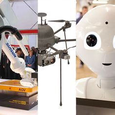Chinese robots, delivery drones, and machines that teach each other could be big trends in 2016.