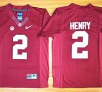 Youth Alabama Crimson Tide #2 Derrick Henry Red 2016 National Championship Stitched NCAA Jersey