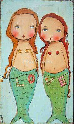 Love mermaids
