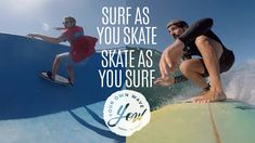 YOW Surf - Surf as you skate or skate as you surf.