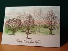 CTMH Father's Day card, made by Anne O'Brien using 'Always Grateful, Seasons & Nature stamp