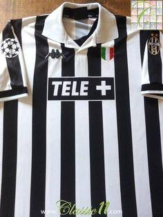 Relive Juventus' 1998/1999 European season with this original Kappa home football shirt.