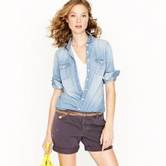 Keeper chambray shirt on shopstyle.com