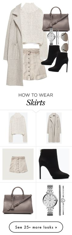 """""""Untitled #19351"""" by florencia95 on Polyvore featuring moda, Abercrombie & Fitch, Zara, Yves Saint Laurent, FOSSIL e Tom Ford"""