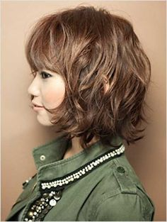 Cool Wavy Fringes and Nice Charming Light Brown Color