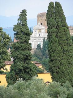 View from Pitti Palace in Florence