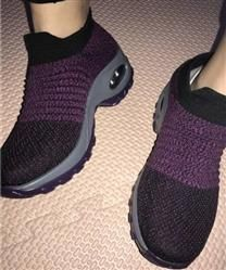 7c0ace51fea32d Wiwse verified customer review of Women Slip-on Casual Creepers Shock Shoes