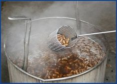 What is better than boiled peanuts?