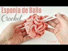 Bath Pouf Crochet Pattern - Things To Crochet Crochet Home, Crochet Gifts, Free Crochet, Knit Crochet, Knitting Projects, Crochet Projects, Crochet Stitches, Crochet Patterns, Hand Embroidery Videos