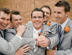The top things your groom will do wrong.  Don't say you weren't warned!