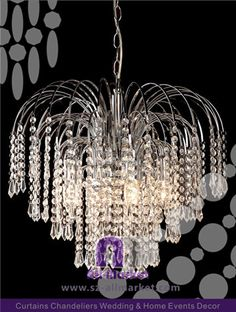 DIY Plastic Beads Chandeliers AMLD With More Than Years In - Plastic chandelier crystals wholesale