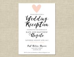Wording For Casual Wedding Invitations Reception Invitation Templates Party