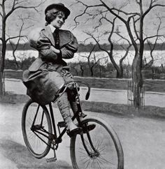 A List of Don'ts for Women on Bicycles Circa 1895 – Brain Pickings