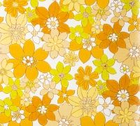 I swear this wallpaper was in my Mother's kitchen in the 70s!! What memories!!