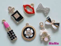 Hey, I found this really awesome Etsy listing at https://www.etsy.com/listing/233597899/1-set-7-pieces-charms-alloy-lipstick