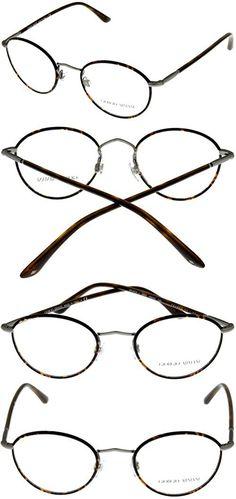 601285c057 Giorgio Armani Unisex Eyeglasses Designer Frames of Life Havana Round  AR5024J 3003