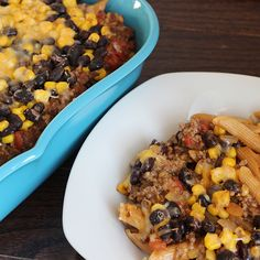 9 Skinny Potluck recipes (want to try the Tex Mex Casserole!)