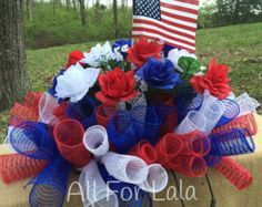 Blue and Gold Headstone Saddle with Roses for Men by AllForLala