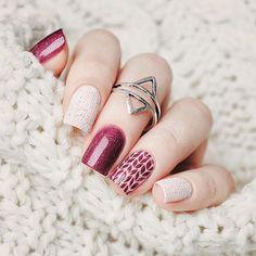 ❄️ Nail spécialement pour l'hiver ❄️❄️#Winter#Stylée#Trop cute***